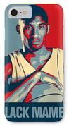 Kobe Bryant IPhone Case by Taylan Apukovska