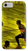 Kobe Lakers IPhone Case by RJ Aguilar