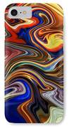 Koi Pond IPhone Case by Chris Butler