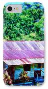 Kona Coffee Shack IPhone Case by Dominic Piperata