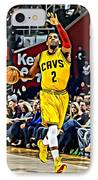 Kyrie Irving IPhone Case by Florian Rodarte