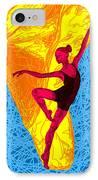 La Ballerina Du Juilliard IPhone Case by Kenal Louis