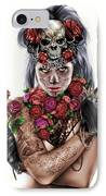 La Calavera Catrina IPhone Case