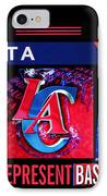 La Clippers Turkish Heritage IPhone Case by RJ Aguilar