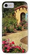 La Posada Gardens In Winslow Arizona IPhone Case by Priscilla Burgers
