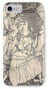 La Toilette IPhone Case by Konstantin Andreevic Somov