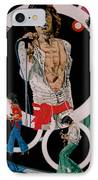 Ladies And Gentlemen -the Rolling Stones IPhone Case by Sean Connolly
