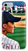 Lady Phanatic IPhone Case by Alice Gipson