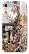 Lady Pirate Of Penzance IPhone Case by Terri Waters