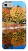 Lake At Davis IPhone Case by Jim Halas