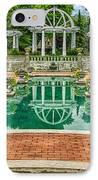 Lakeside Park Wedding Pavilion II IPhone Case by Gene Sherrill