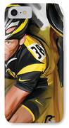 Lance Armstrong Artwork IPhone Case by Sheraz A