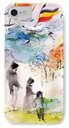 Land Of Plenty IPhone Case by Mary Spyridon Thompson