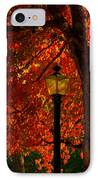 Lantern In Autumn IPhone Case