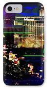 Las Vegas Igniting Your Fire IPhone Case