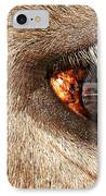 Lashes IPhone Case by Diana Angstadt