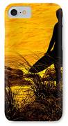 Last Surfer Standing IPhone Case by Ian  MacDonald