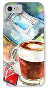 Latte Macchiato In Italy 01 IPhone Case by Miki De Goodaboom