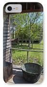 Laura Plantation Slaves Porch IPhone Case