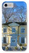Laurel Hill Mansion IPhone Case by Olivier Le Queinec
