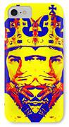 Laurence Olivier Double In Richard IIi IPhone Case
