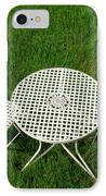 Lawn Furniture IPhone Case by Olivier Le Queinec
