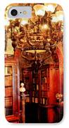 Lawyer - In The Library IPhone Case by Mike Savad