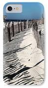 Lbi Dunes IPhone Case by John Rizzuto