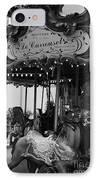 Le Carrousel IPhone Case by David Rucker