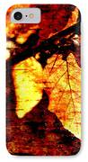 Leaf And Light Abstract IPhone Case by Natalie Kinnear