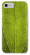 Leaf Lines V IPhone Case