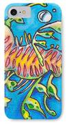 Leafy Sea Dragon IPhone Case by Tamara Blyth