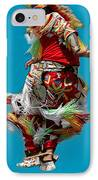 Leaping Into The Air IPhone Case by Kathleen Struckle
