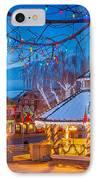 Leavenworth Gazebo IPhone Case by Inge Johnsson