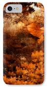 Leaves Of Gold IPhone Case by Lourry Legarde