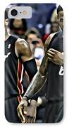 Lebron James And Dwyane Wade IPhone Case