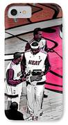 Lebron's 1st Ring IPhone Case