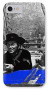 Leif Erickson Cameron Mitchell  Mark Slade Number 1 The High Chaparral Set Old Tucson Az 1969 IPhone Case by David Lee Guss