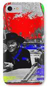 Leif Erickson Cameron Mitchell  Mark Slade Number 2 The High Chaparral Set Old Tucson Az 1969-2008 IPhone Case