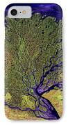 Lena River Delta IPhone Case by Adam Romanowicz