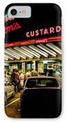 Leon's Frozen Custard IPhone Case by Scott Norris