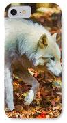 Let The Timber Wolf Live IPhone Case by John Haldane