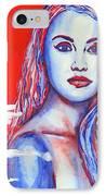 Liberty American Girl IPhone Case by Anna Ruzsan