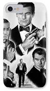 Licence To Kill  Bw IPhone Case