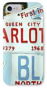 License Plates IPhone Case by Stacy C Bottoms