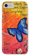 Life - Healing Art IPhone Case by Absinthe Art By Michelle LeAnn Scott