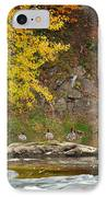 Life On The River Square IPhone Case by Bill Wakeley