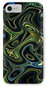 Light Painting 4 IPhone Case by Delphimages Photo Creations