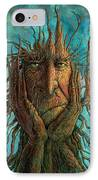 Lightninghead IPhone Case by Frank Robert Dixon