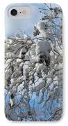 Lilac In Winter IPhone Case